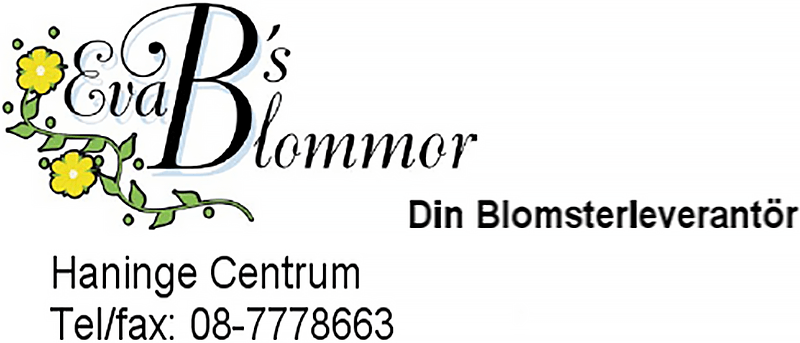 Eva B's Blommor logo