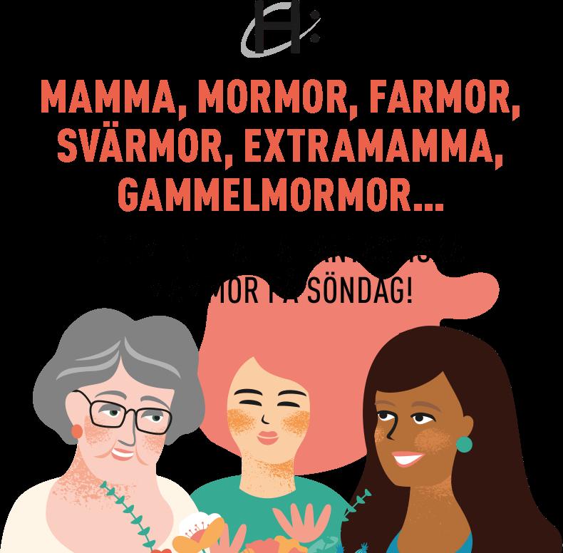 Glöm inte alla fantastiska mammor på söndag!